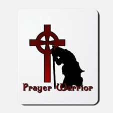 Prayer Knight Red Mousepad