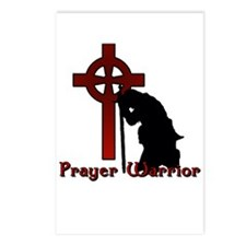 Prayer Knight Red Postcards (Package of 8)