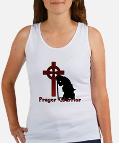 Prayer Knight Red Women's Tank Top