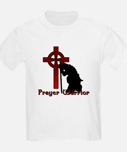 Prayer Knight Red T-Shirt