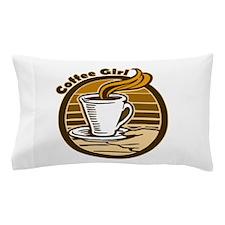 CoffeeGirl.PNG Pillow Case