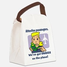 attention passengers PG.png Canvas Lunch Bag