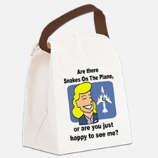 SOAP happy to see me.png Canvas Lunch Bag