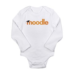 Moodle Logo Long Sleeve Infant Bodysuit
