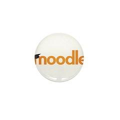 Moodle Logo Mini Button (100 pack)
