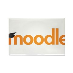 Moodle Logo Rectangle Magnet (10 pack)