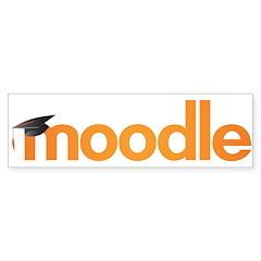 Moodle Logo Bumper Sticker
