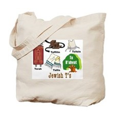 Jewish T's Tote Bag