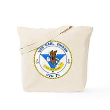 US Navy USS Carl Vinson CVN 70 Tote Bag