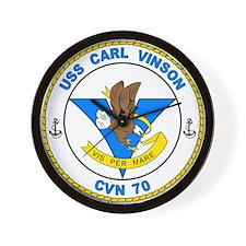 US Navy USS Carl Vinson CVN 70 Wall Clock