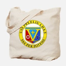 US Navy USS Peleliu LHA 5 Tote Bag