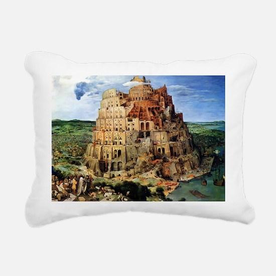 Unique Christian art Rectangular Canvas Pillow