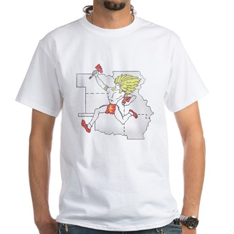 Throwback Chiefs White T-Shirt