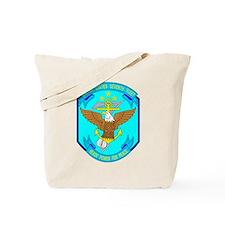 US Navy 7th Fleet Emblem Tote Bag