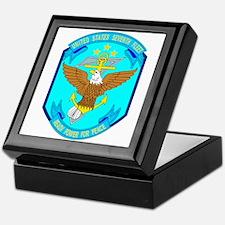 US Navy 7th Fleet Emblem Keepsake Box