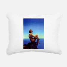 Maxfield Parrish Stars Rectangular Canvas Pillow