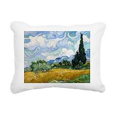 Cute Cypress trees Rectangular Canvas Pillow