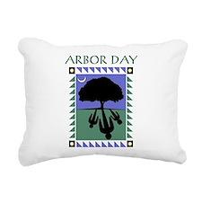 Arbor Day Rectangular Canvas Pillow