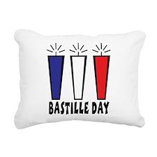 Bastille Day Rectangular Canvas Pillow