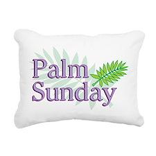 Palm Sunday Rectangular Canvas Pillow
