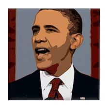 Obama Graphic Tile Coaster
