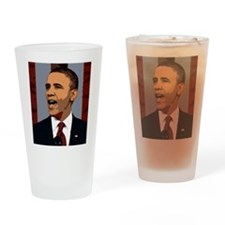 Obama Graphic Drinking Glass