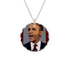 Obama Graphic Necklace