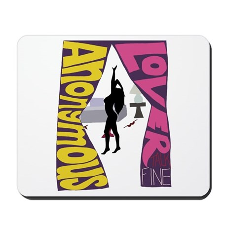 Anonymous Lover Mousepad