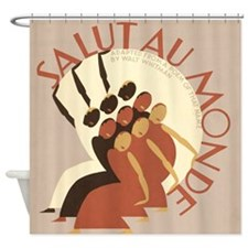 Salut au Monde Shower Curtain