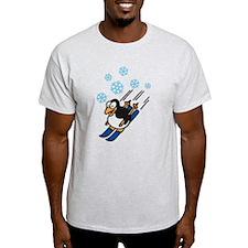 Peguin Ski T-Shirt