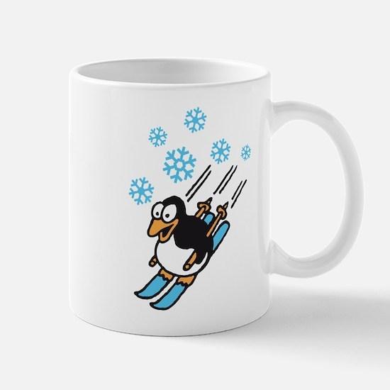 penguin ski Mug