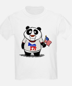 Panda Politics Democrat T-Shirt