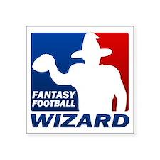 """Fantasy Football Square Sticker 3"""" x 3"""""""