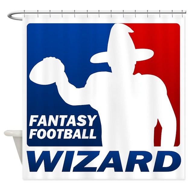 Fantasy Football Shower Curtain by big_fat_geek