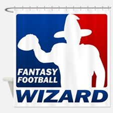 Fantasy Football Shower Curtain