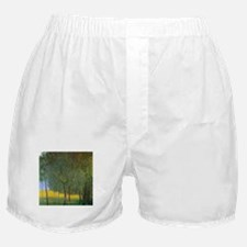 Gustav Klimt Fruit Trees Boxer Shorts