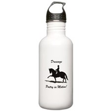 Dressage Poetry in Motion Horse Water Bottle