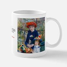 Renoir - Two Sisters Small Small Mug