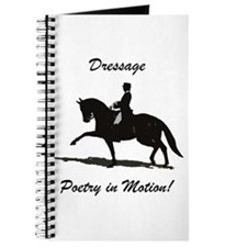 Dressage Poetry in Motion Horse Journal