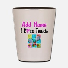 I LOVE TENNIS Shot Glass