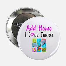 "I LOVE TENNIS 2.25"" Button"