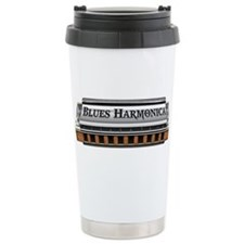 Blues Harmonica Travel Mug