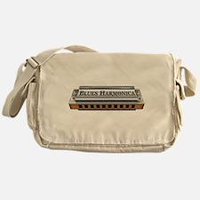 Blues Harmonica Messenger Bag