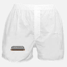 Blues Harmonica Boxer Shorts
