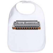 Blues Harmonica Bib