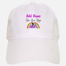I LOVE YOGA Baseball Baseball Cap
