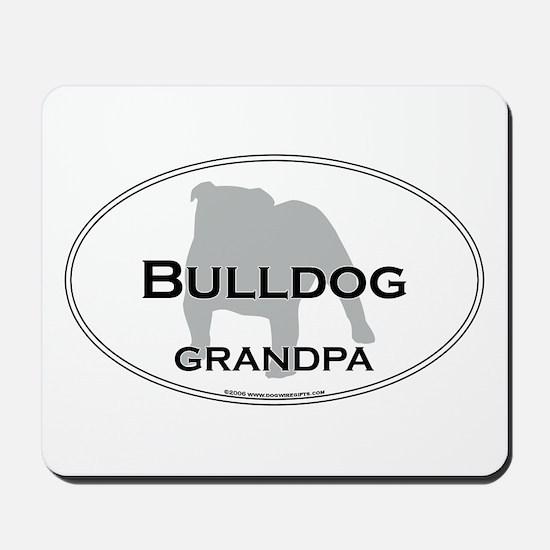 Bulldog GRANDPA Mousepad