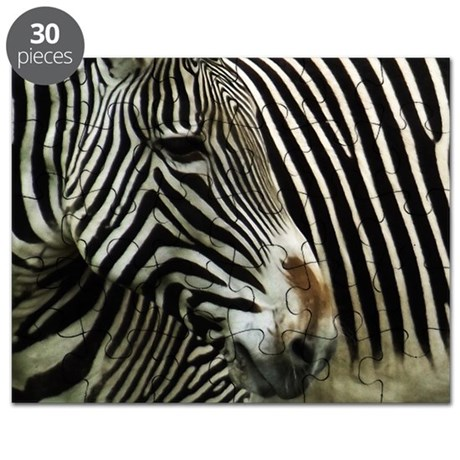 Black and White Zebra Puzzle