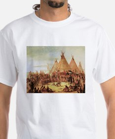 George Catlin Sioux War Council Shirt
