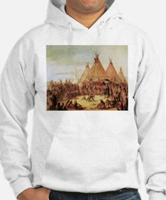 George Catlin Sioux War Council Hoodie
